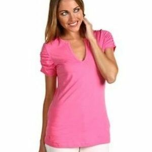 Lilly Pulitzer Hotta Pink Kit Top - L